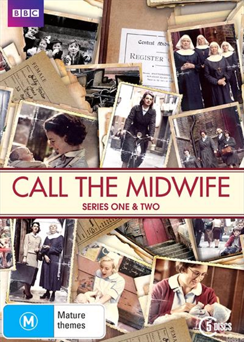 Call The Midwife - Series 1-2 | Boxset | DVD