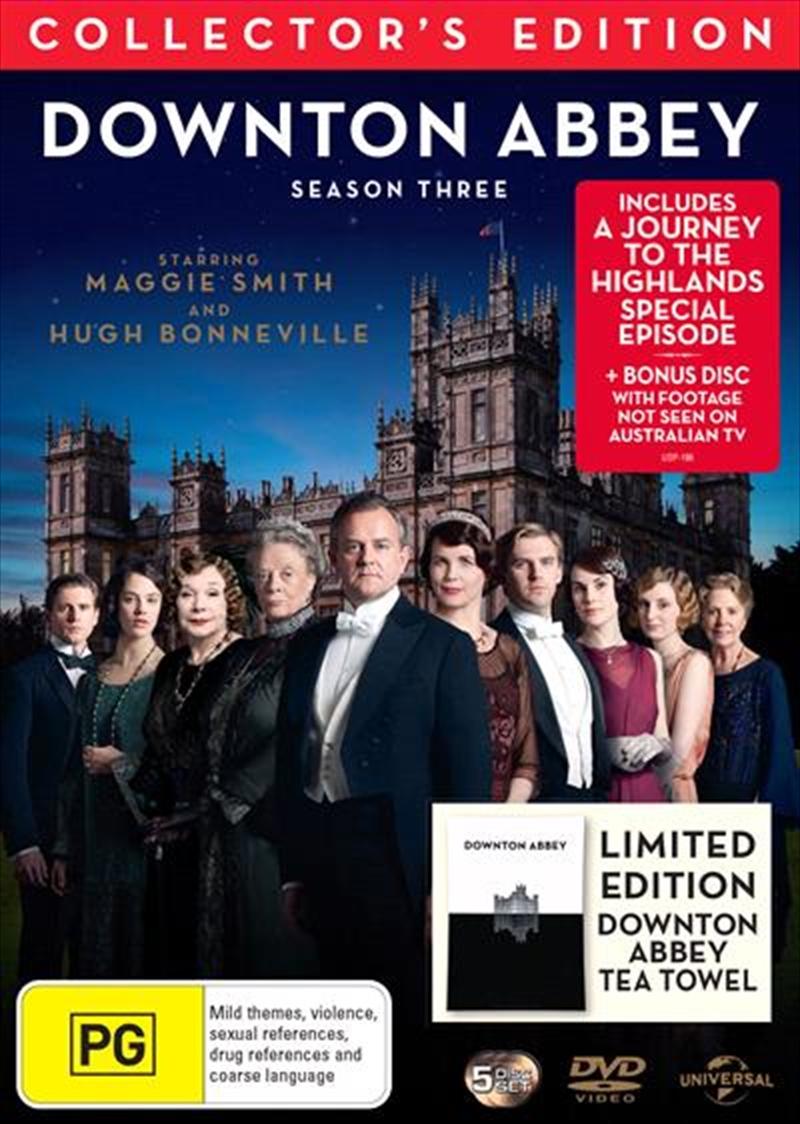 Downton Abbey - Season 3 | With Tea Towel