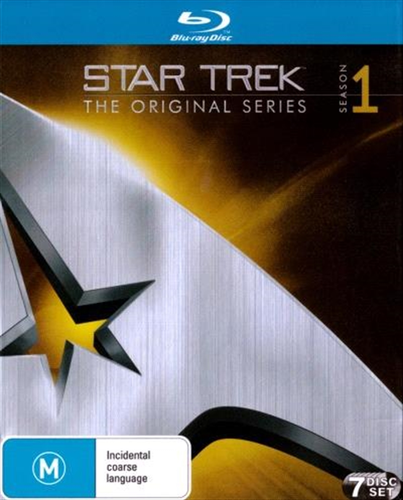 Star Trek The Original Series - Season 01 | Blu-ray