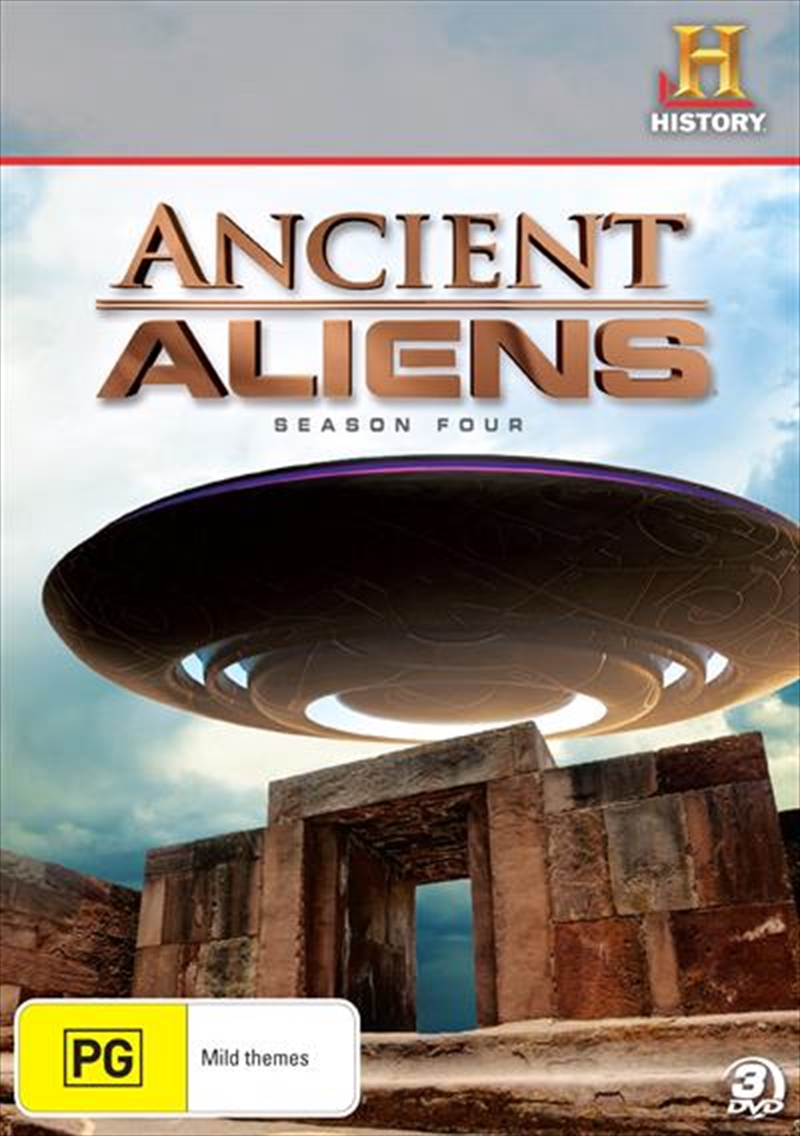Ancient Aliens: Season 4 | DVD