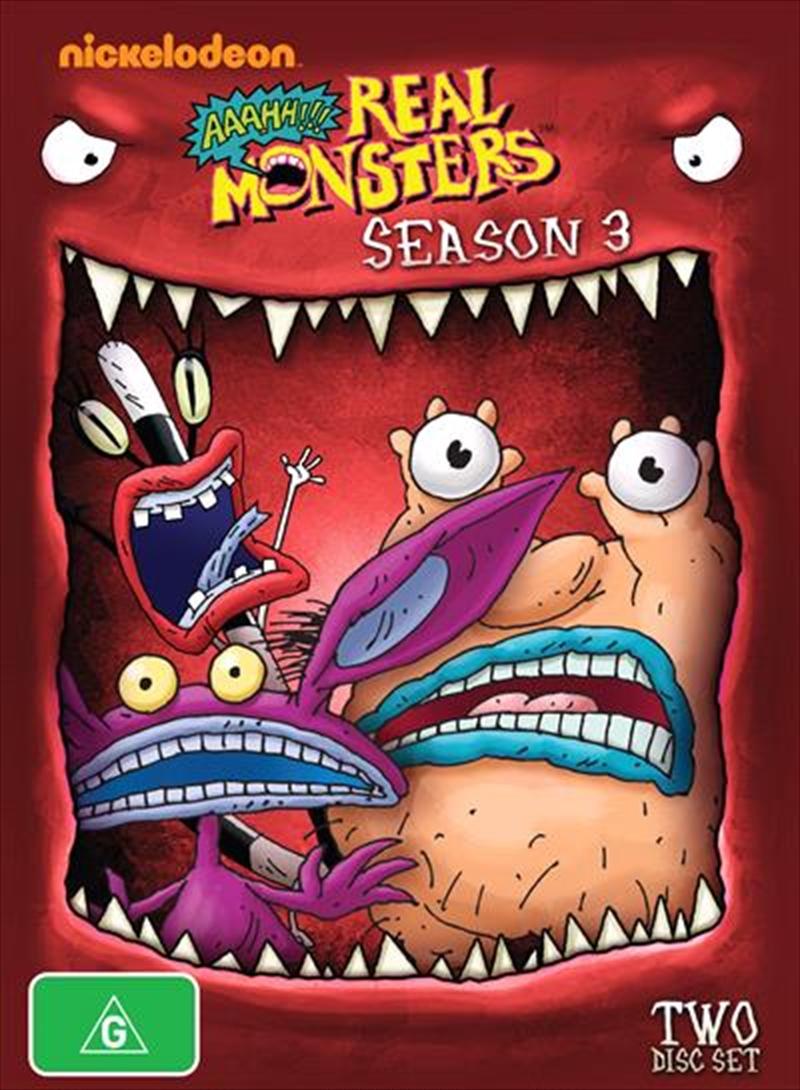 Aaah!!! Real Monsters - Season 3   DVD