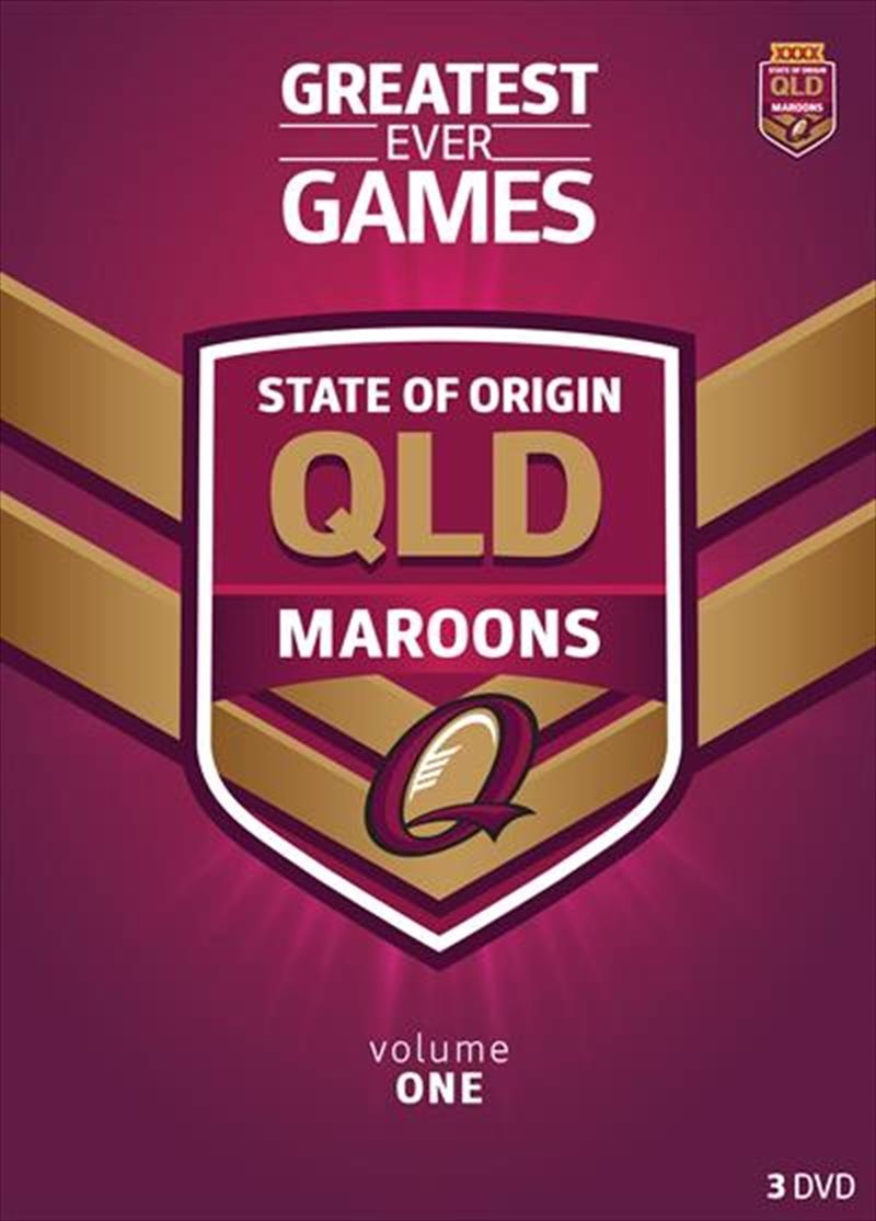 NRL: State Of Origin: Greatest Ever Games: Queensland | DVD