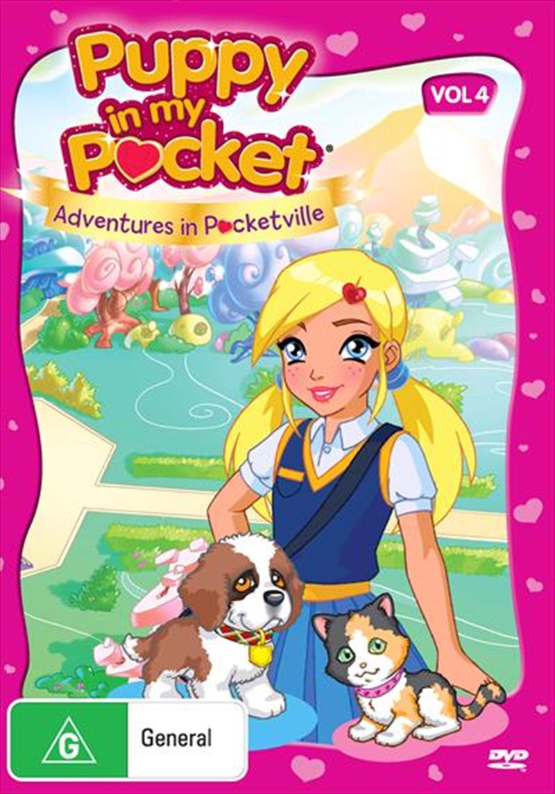 Puppy In My Pocket Vol 4 Animated Dvd Sanity