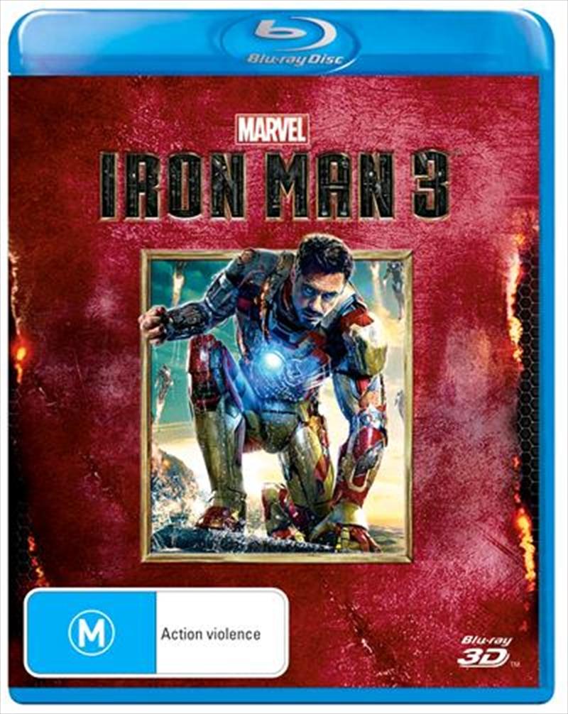 Iron Man 3   Blu-ray 3D