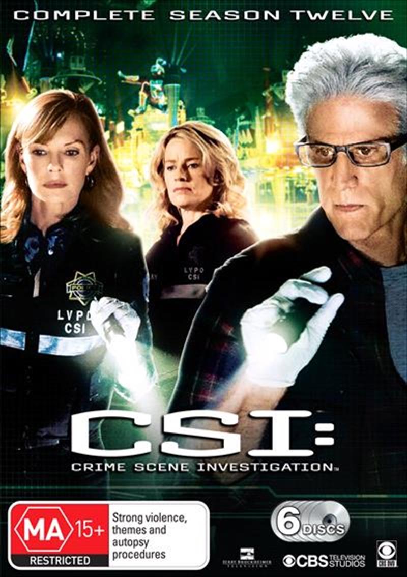 CSI: Crime Scene Investigation - Season 12 | DVD