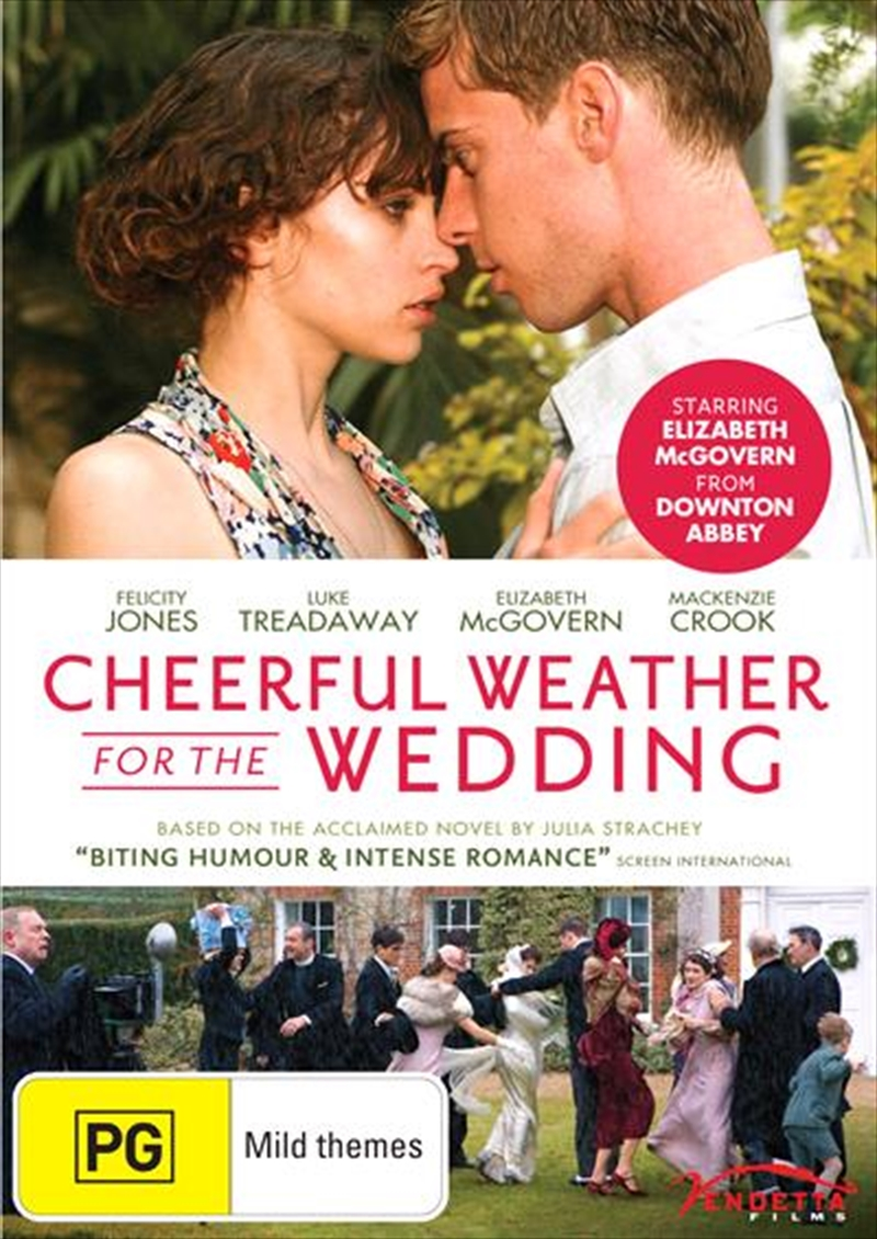 Cheerful Weather For The Wedding | DVD