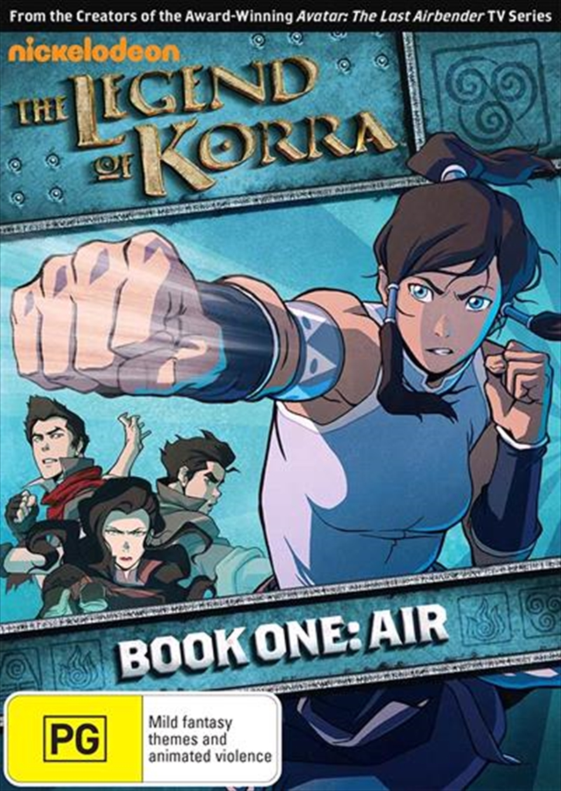 Legend Of Korra - Air - Book 1 | DVD