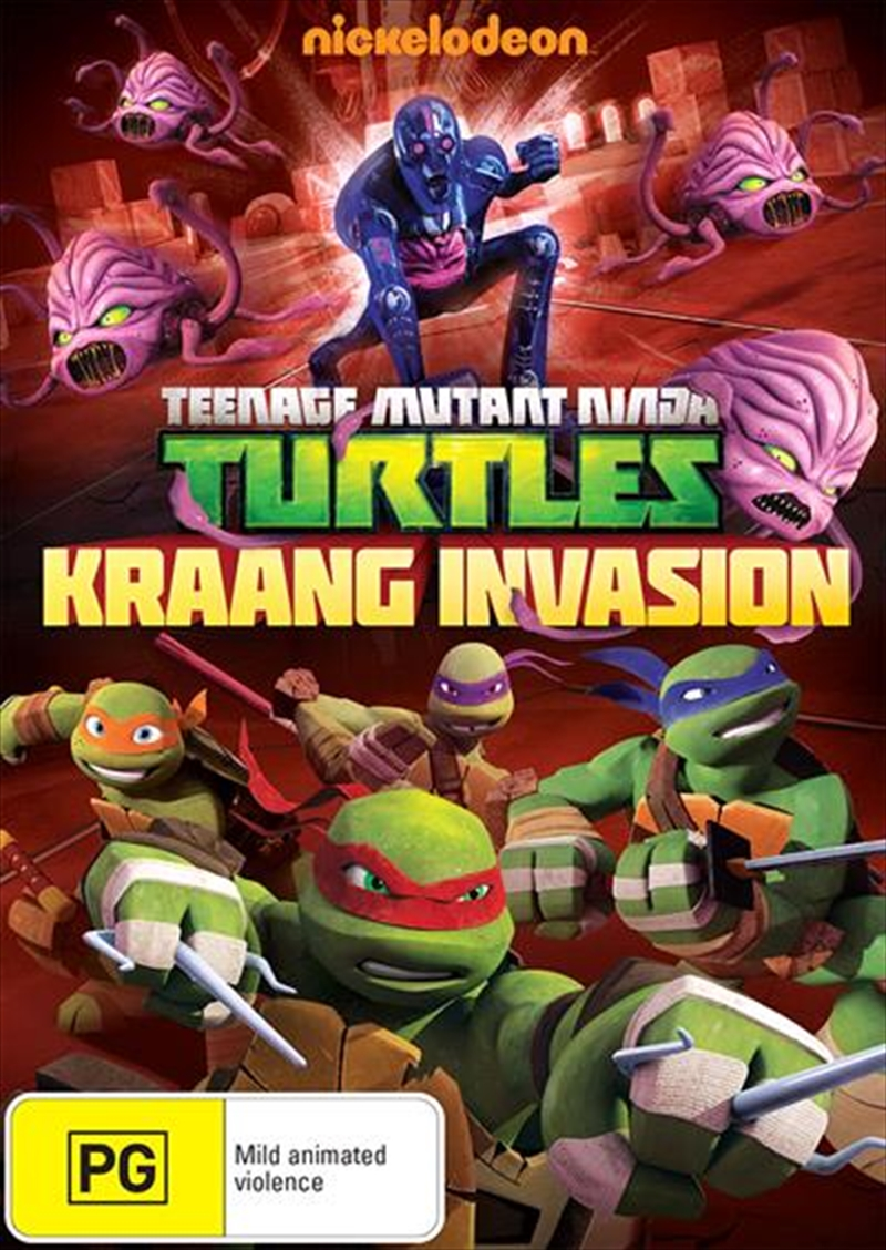 Teenage Mutant Ninja Turtles - Kraang Invasion | DVD