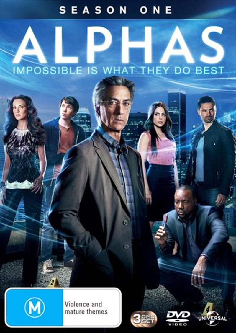 Alphas - Season 1 | DVD