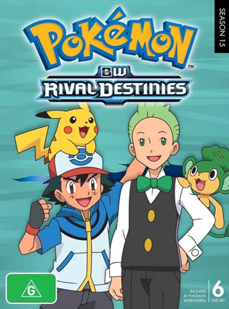 Pokemon - Rival Destinies - Season 15 | DVD