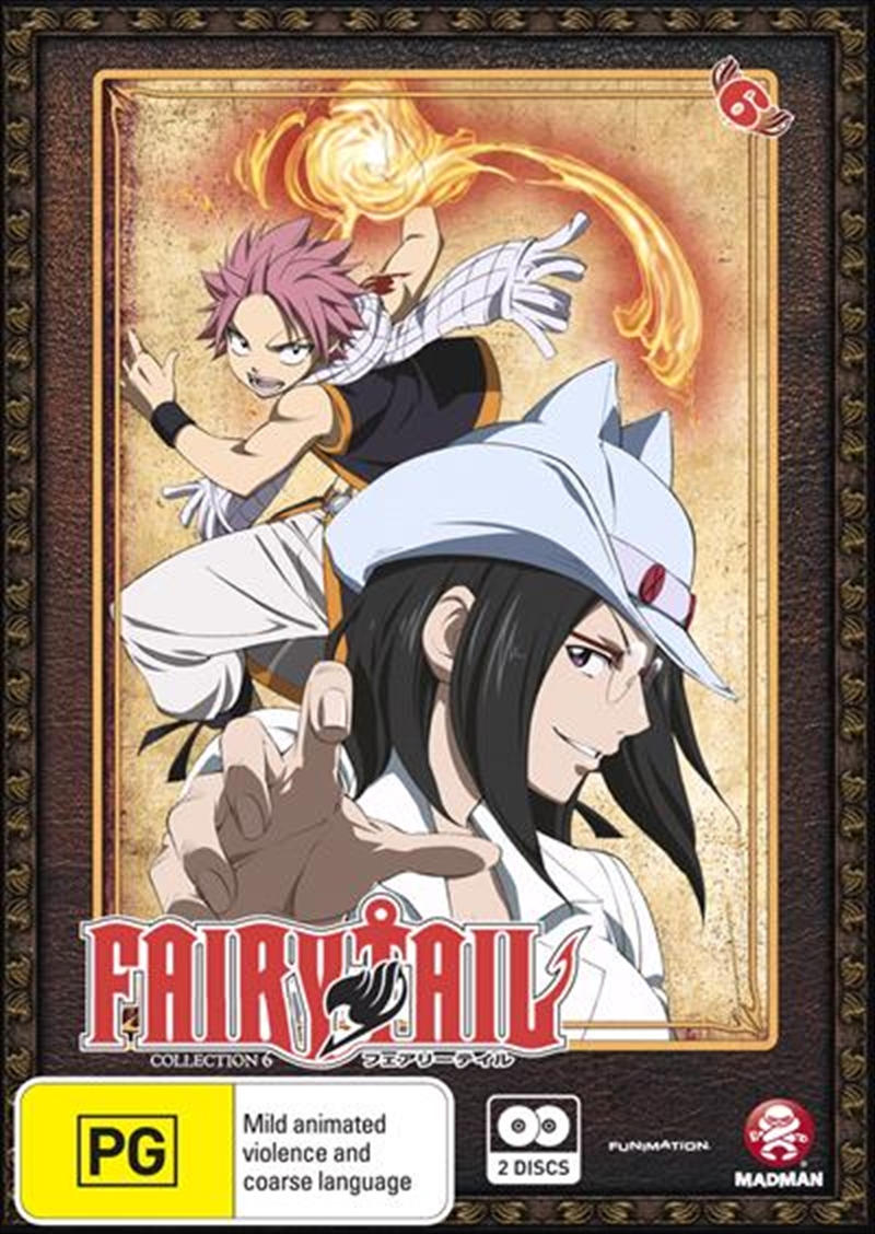 Fairy Tail - Collection 6 - Eps 61-72 | DVD