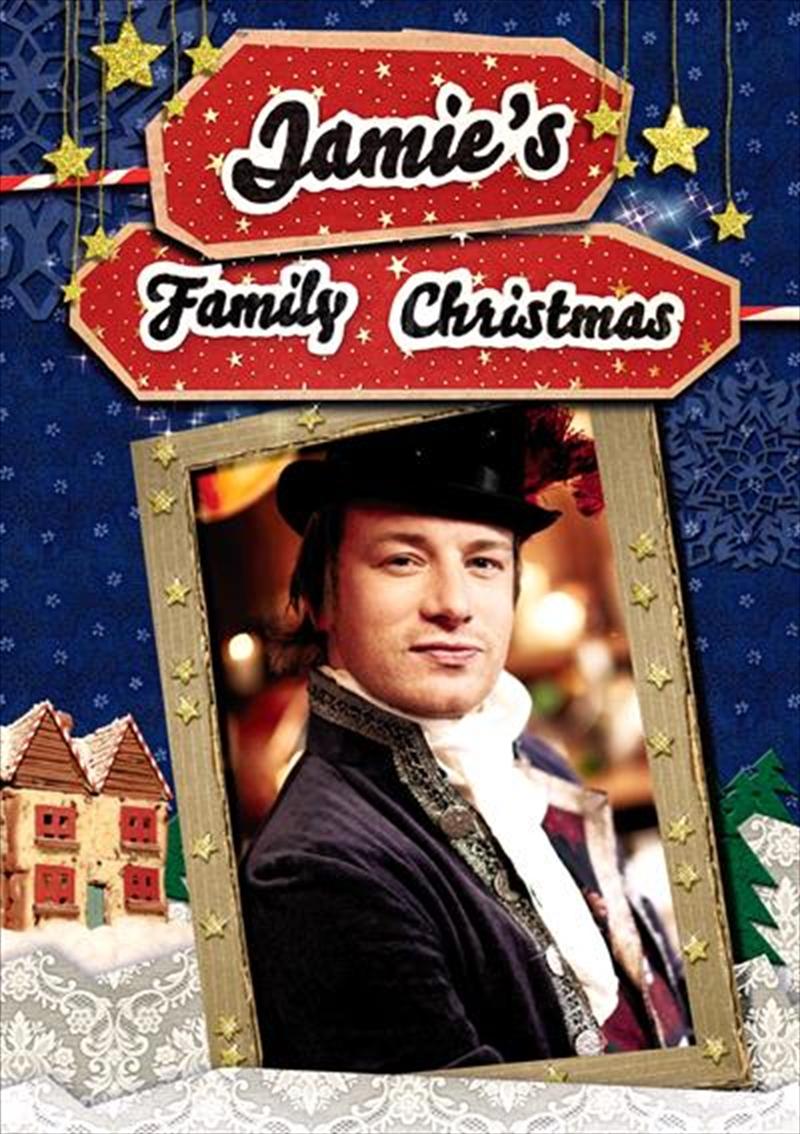 Jamie's Family Christmas   DVD