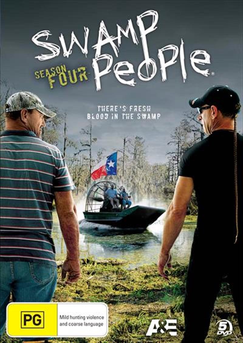 Swamp People - Season 4 | DVD