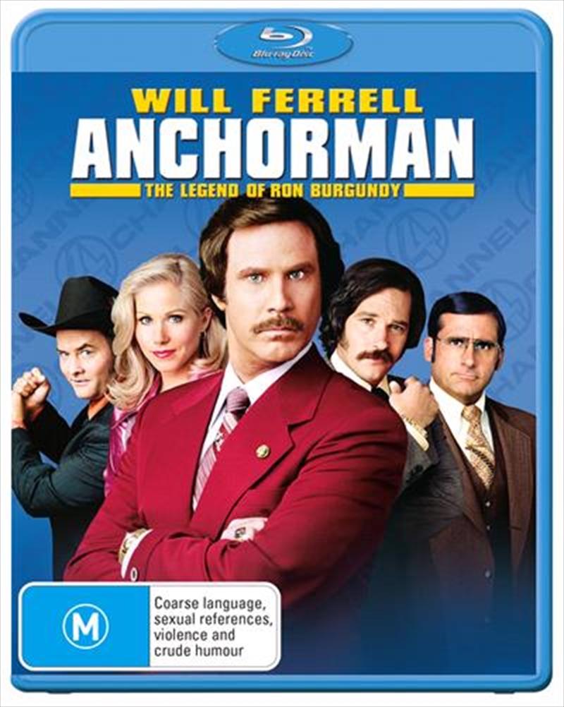 Anchorman - The Legend Of Ron Burgundy | Blu-ray