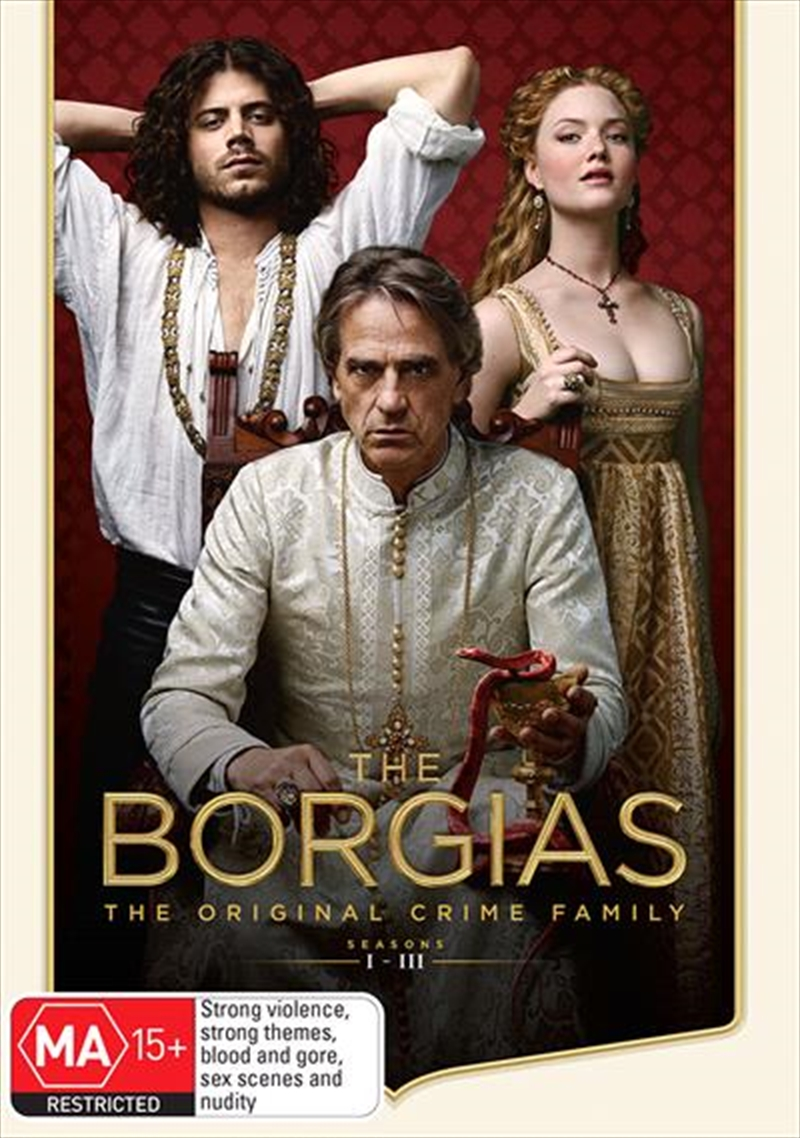 Borgias - Season 1-3 | Boxset, The | DVD
