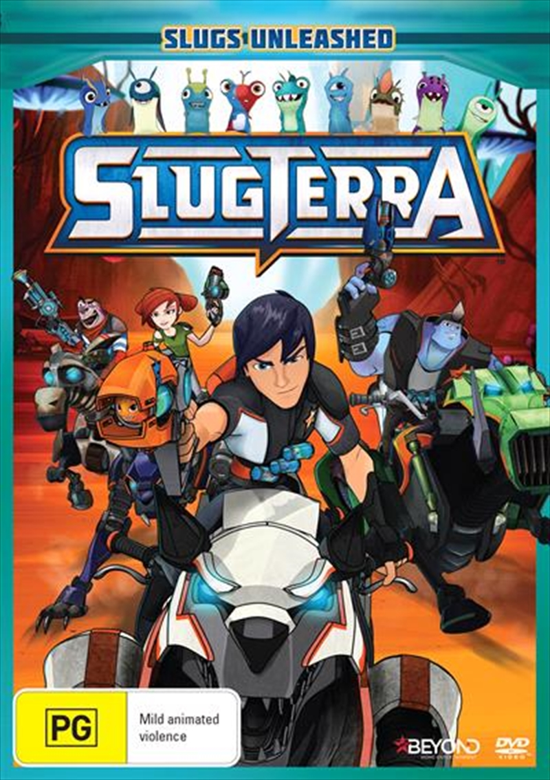 Slugterra - Slugs Unleashed | DVD