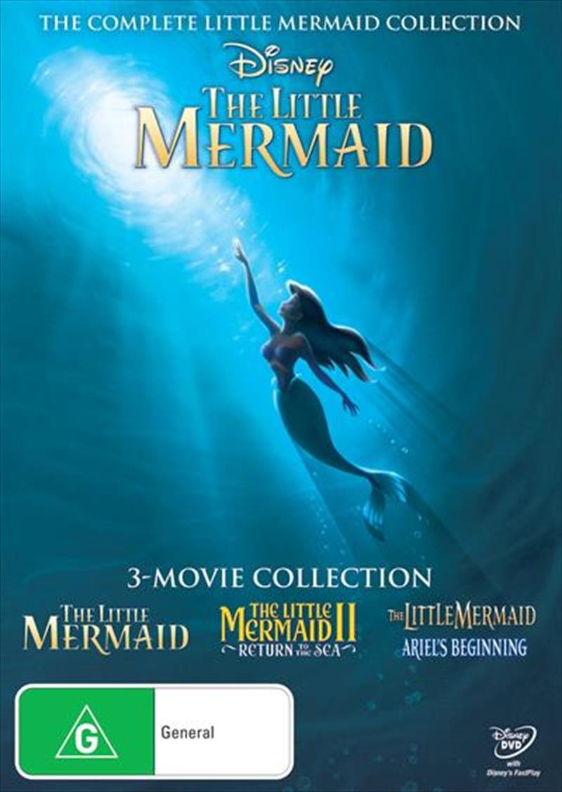 Little Mermaid Trilogy | DVD