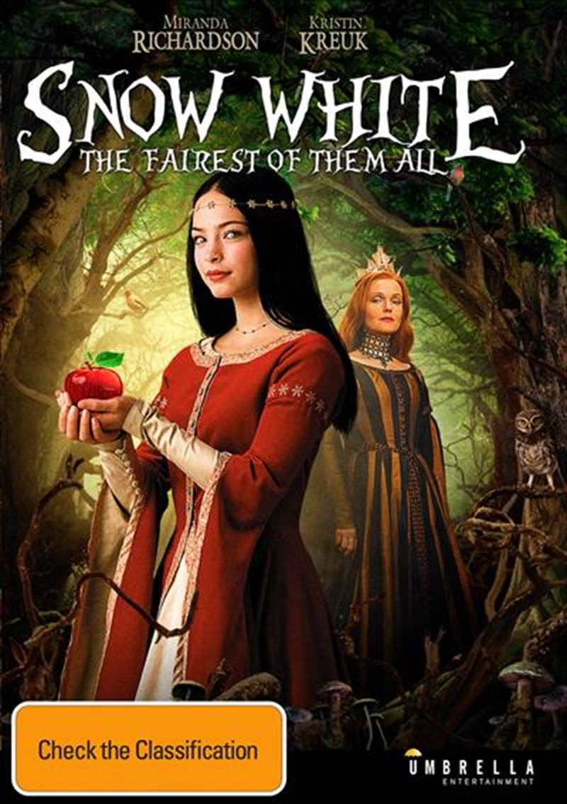 Snow White - The Fairest Of Them All | DVD
