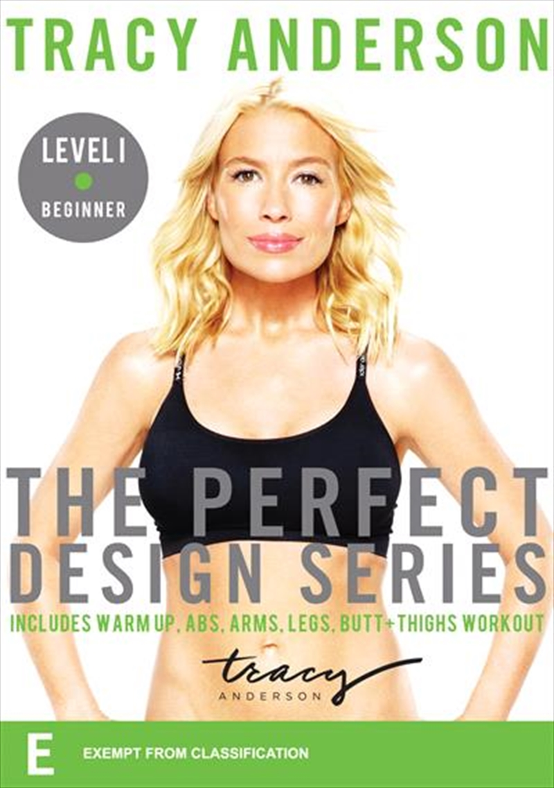 Tracy Anderson: The Perfect Design Series - Level I Beginner   DVD