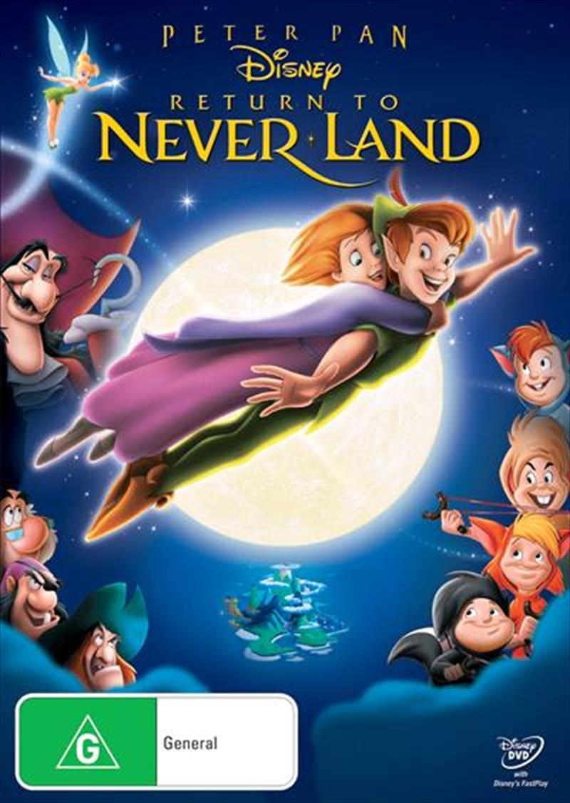 Peter Pan - Return To Never Land | DVD