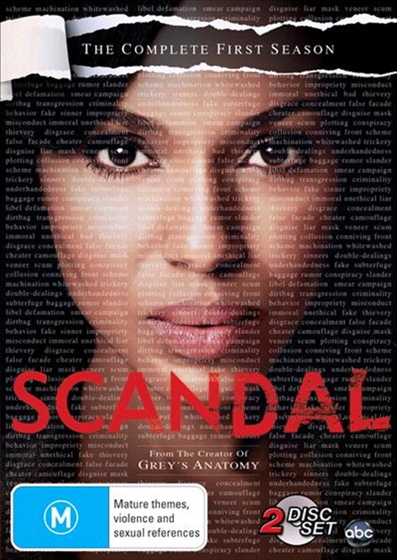 Scandal - Season 1 | DVD