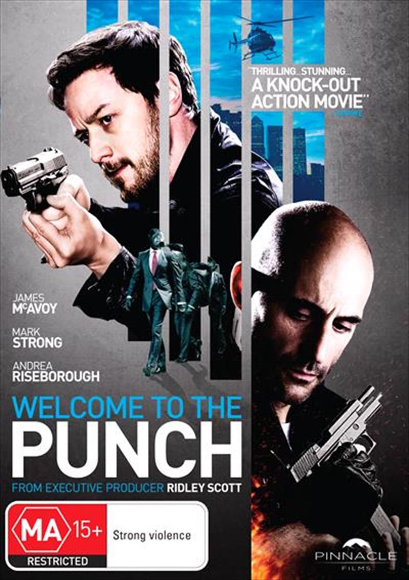 Welcome To The Punch | DVD