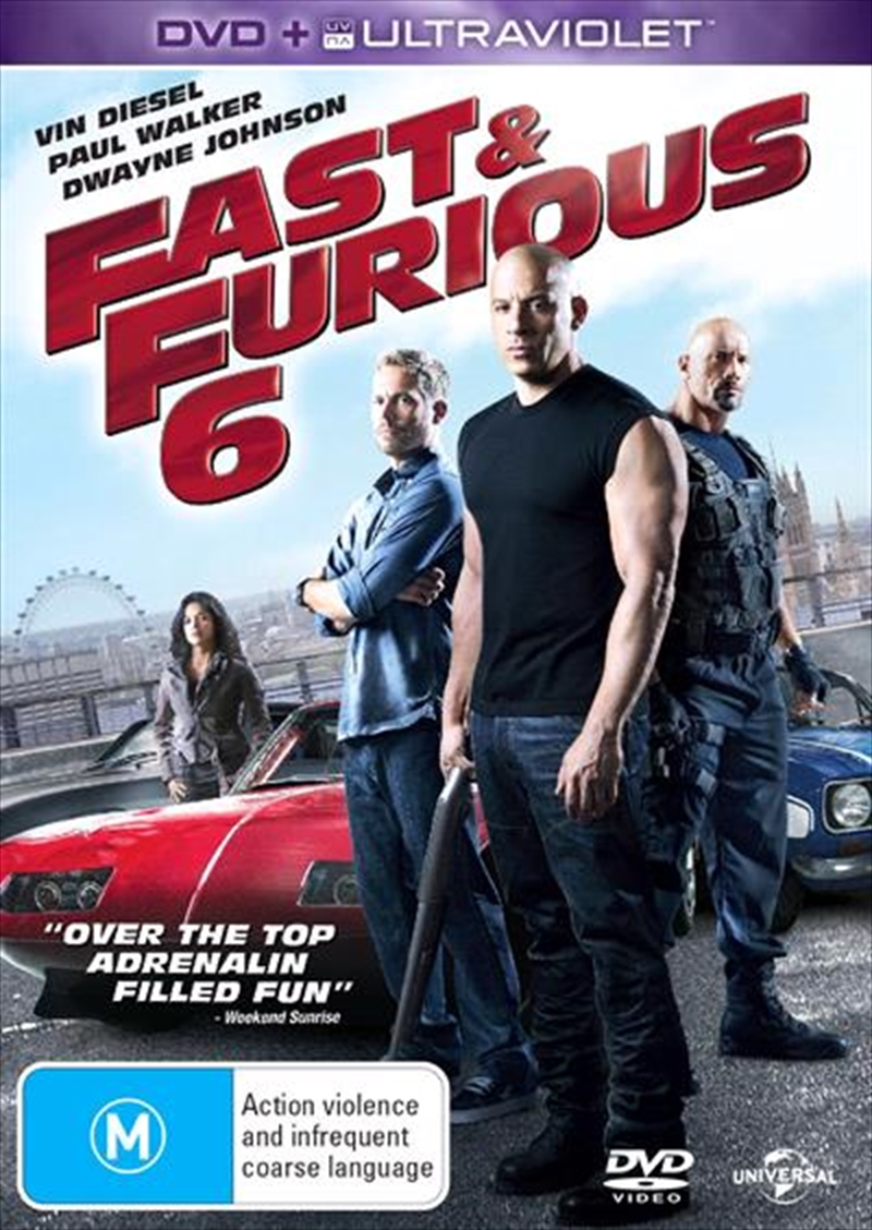 Fast and Furious 6 | DVD