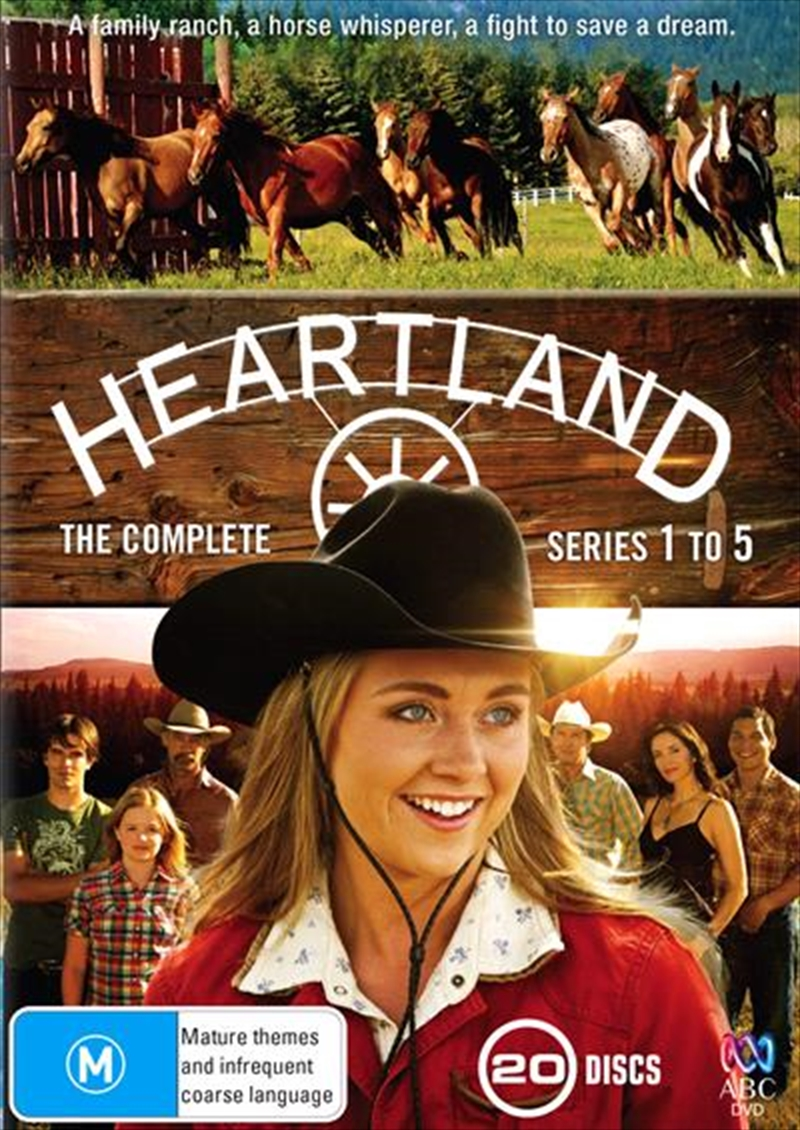 Heartland - Series 1-5 | Boxset | DVD