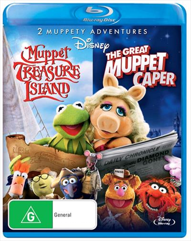 Great Muppet Caper/Muppet Treasure Island | Blu-ray