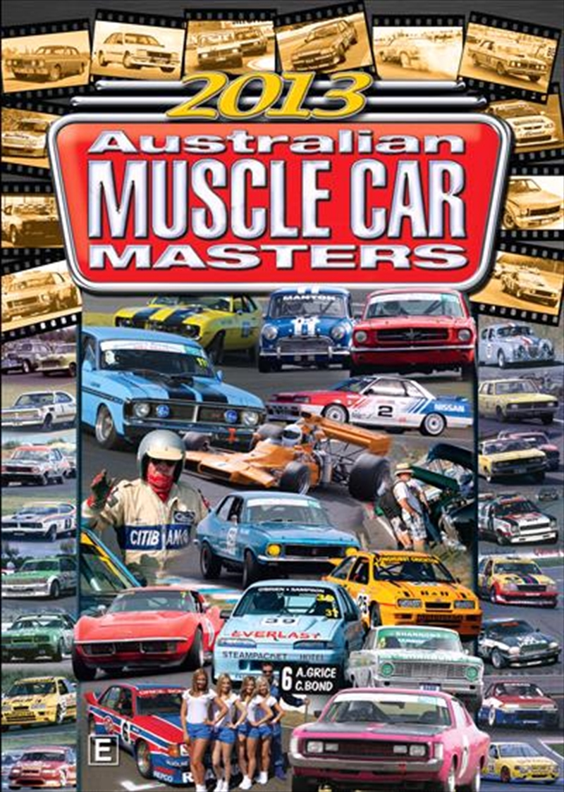 2013 Australian Muscle Car Masters Highlights | DVD