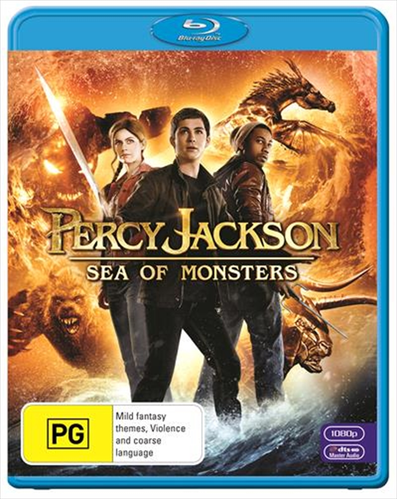 Percy Jackson - Sea Of Monsters | Blu-ray