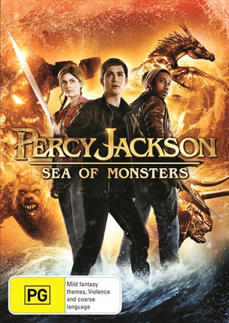 Percy Jackson - Sea Of Monsters | DVD