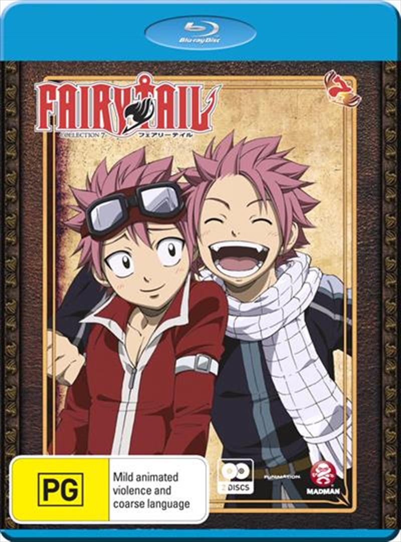 Fairy Tail - Collection 7 - Eps 73-84 | Blu-ray