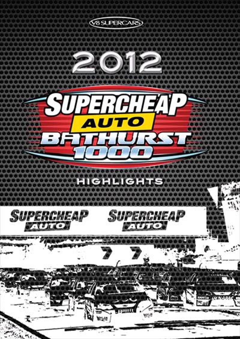 V8 Supercars - 2012 Bathurst 1000 Highlights | DVD