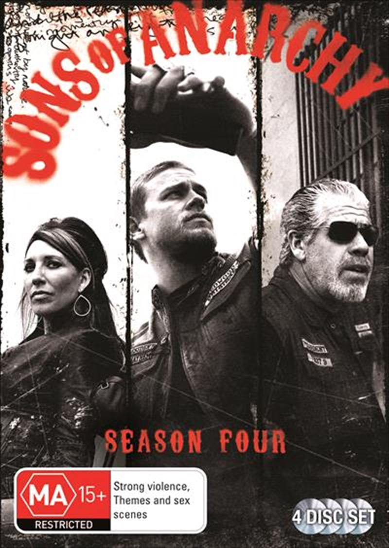 Sons Of Anarchy - Season 4 | DVD