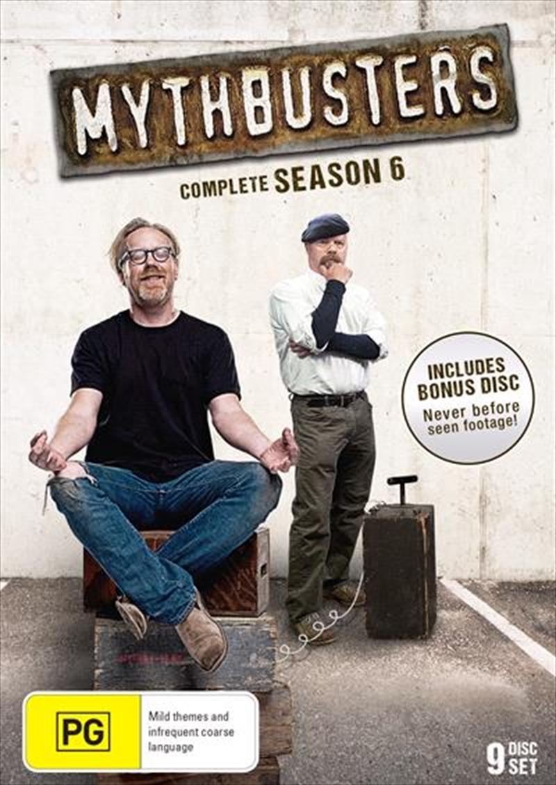 Mythbusters - Season 6 | DVD