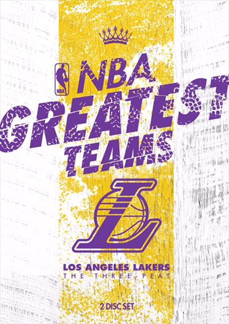 NBA: Greatest Teams: Los Angeles Lakers: The Three-Peat | DVD