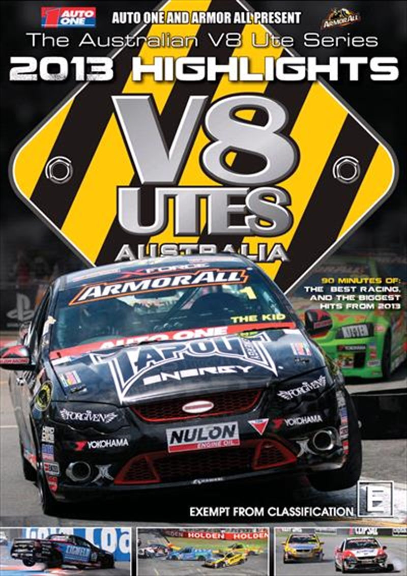 V8 Utes Australia - Championship 2013 Series Highlights | DVD