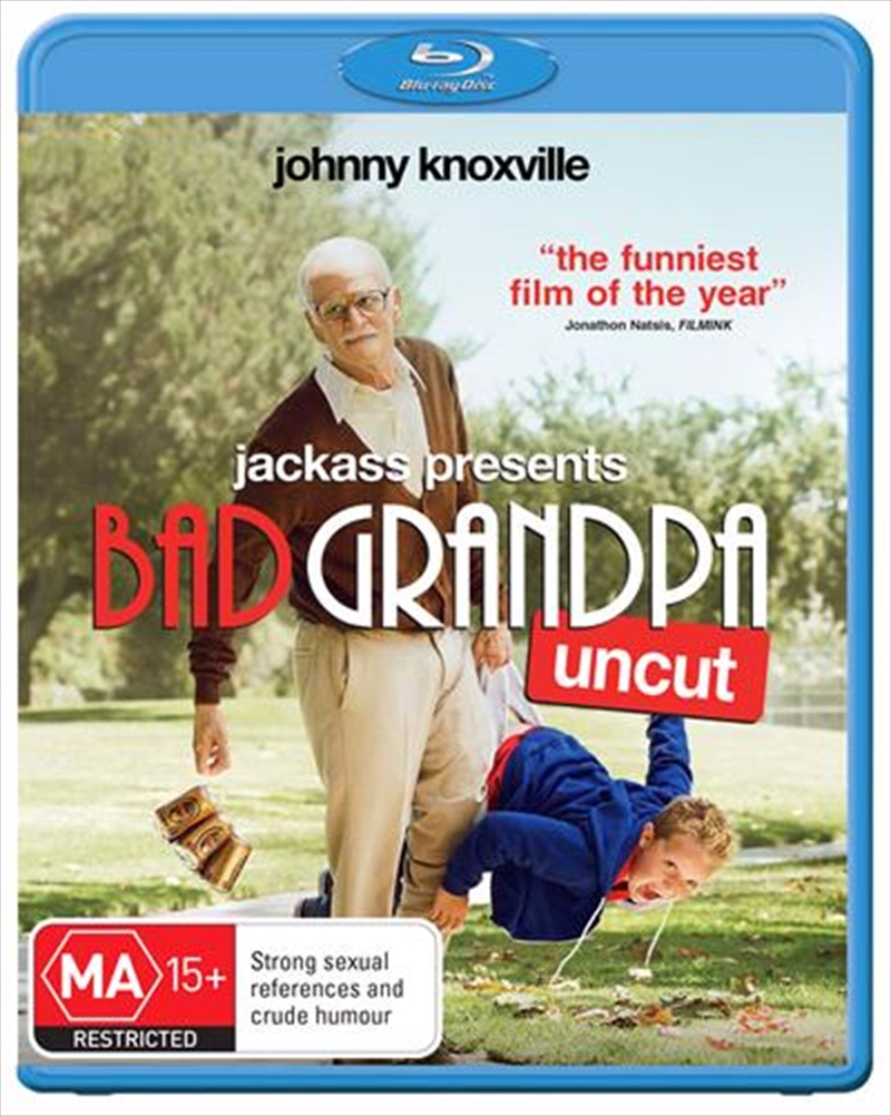 Jackass Presents - Bad Grandpa | Blu-ray
