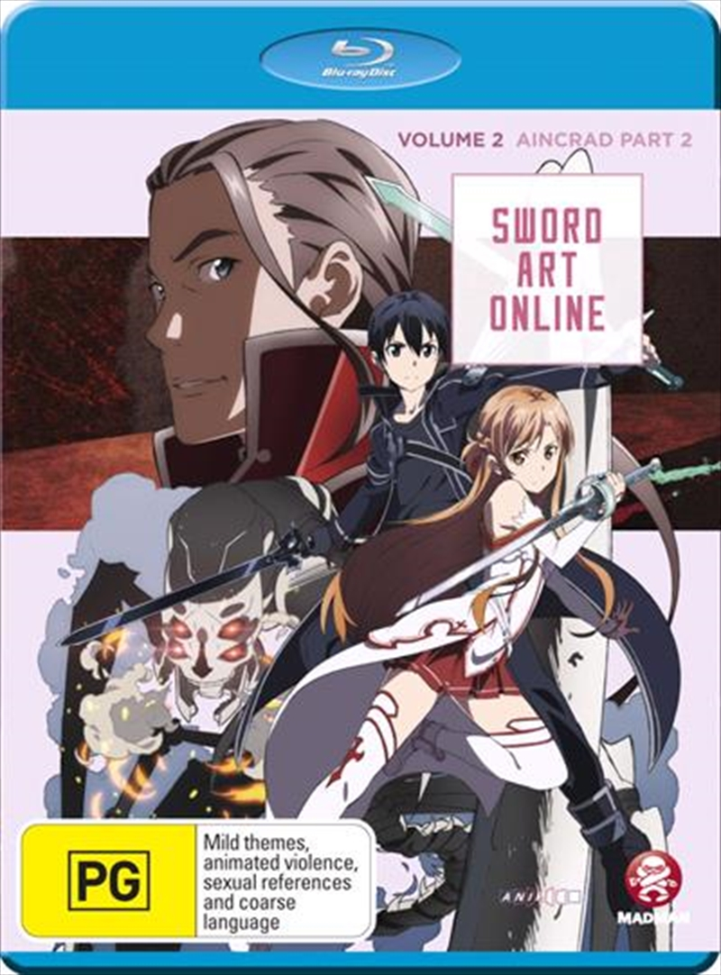 Sword Art Online - Aincrad - Vol 2 - Part 1 - Eps 8-14 | Blu-ray
