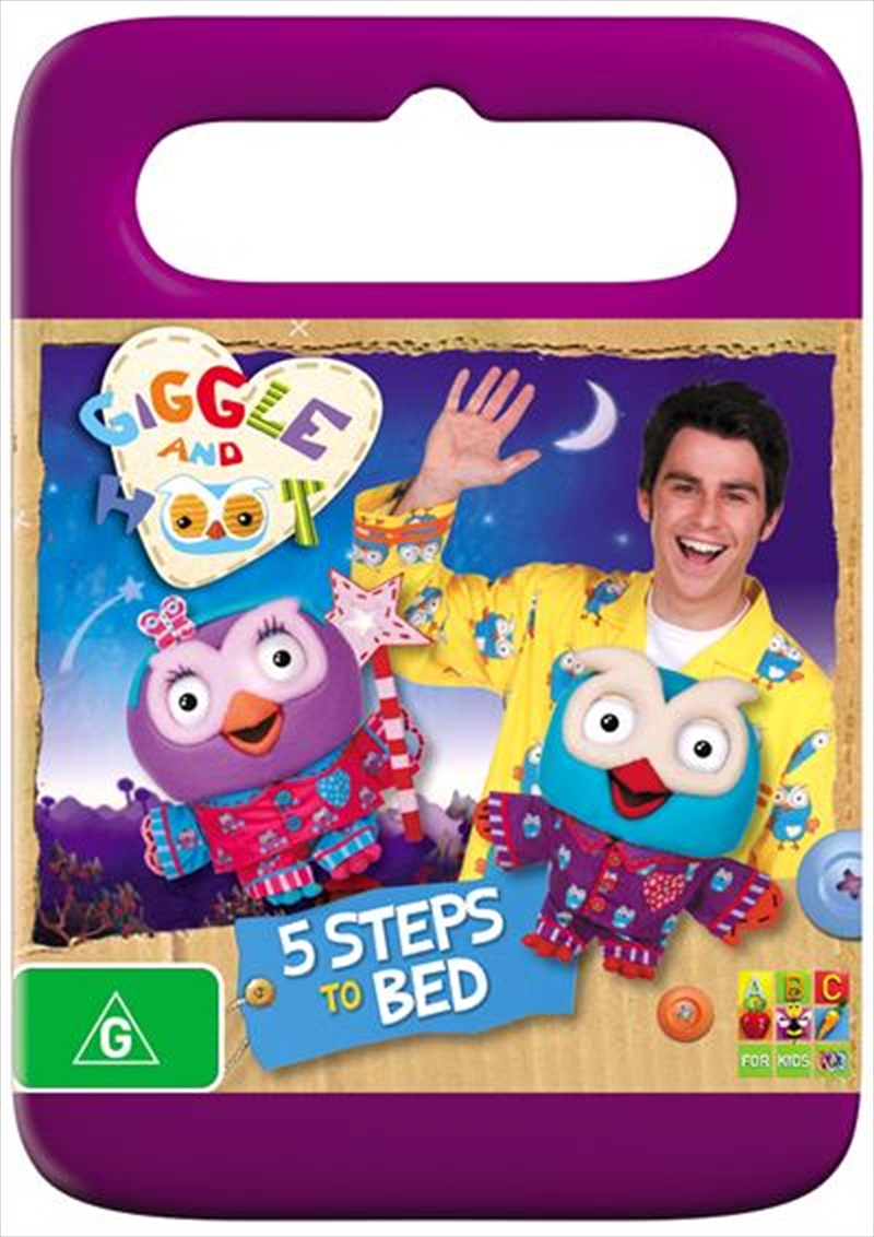 Giggle And Hoot Present - 5 Steps To Bed | DVD