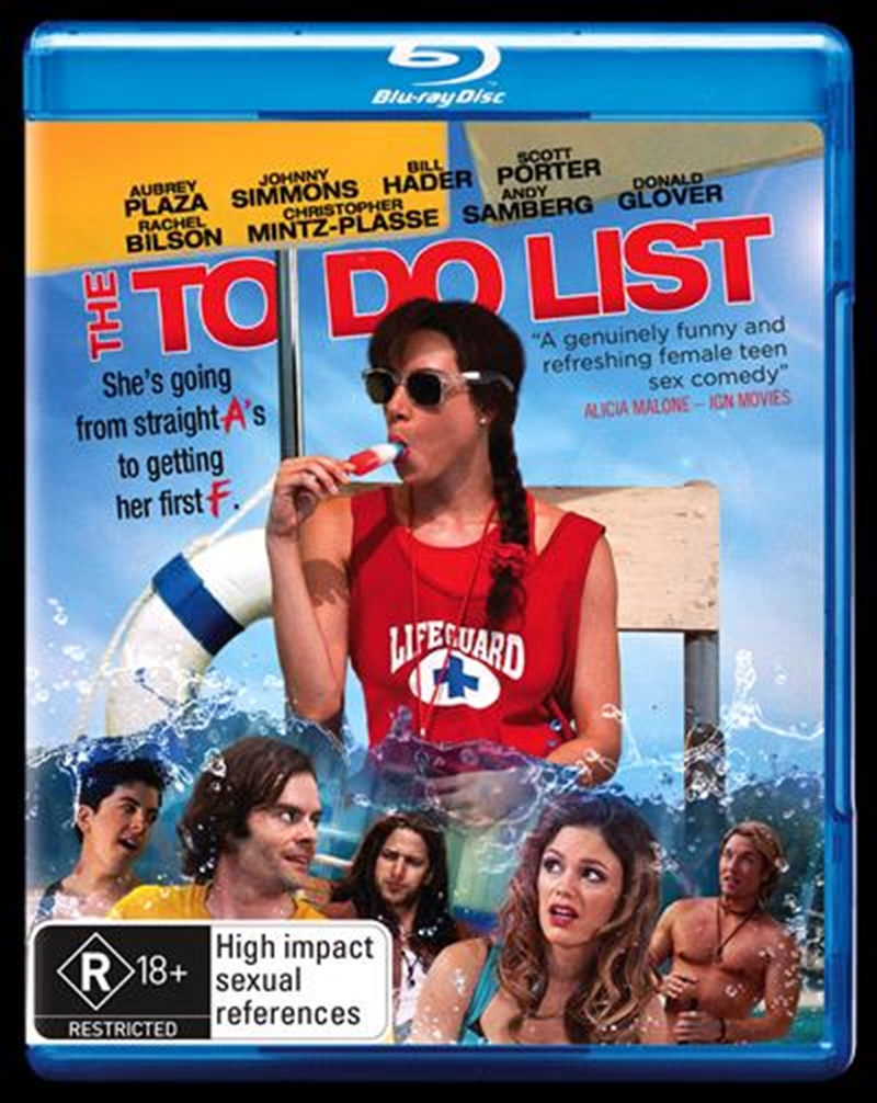To Do List, The   Blu-ray