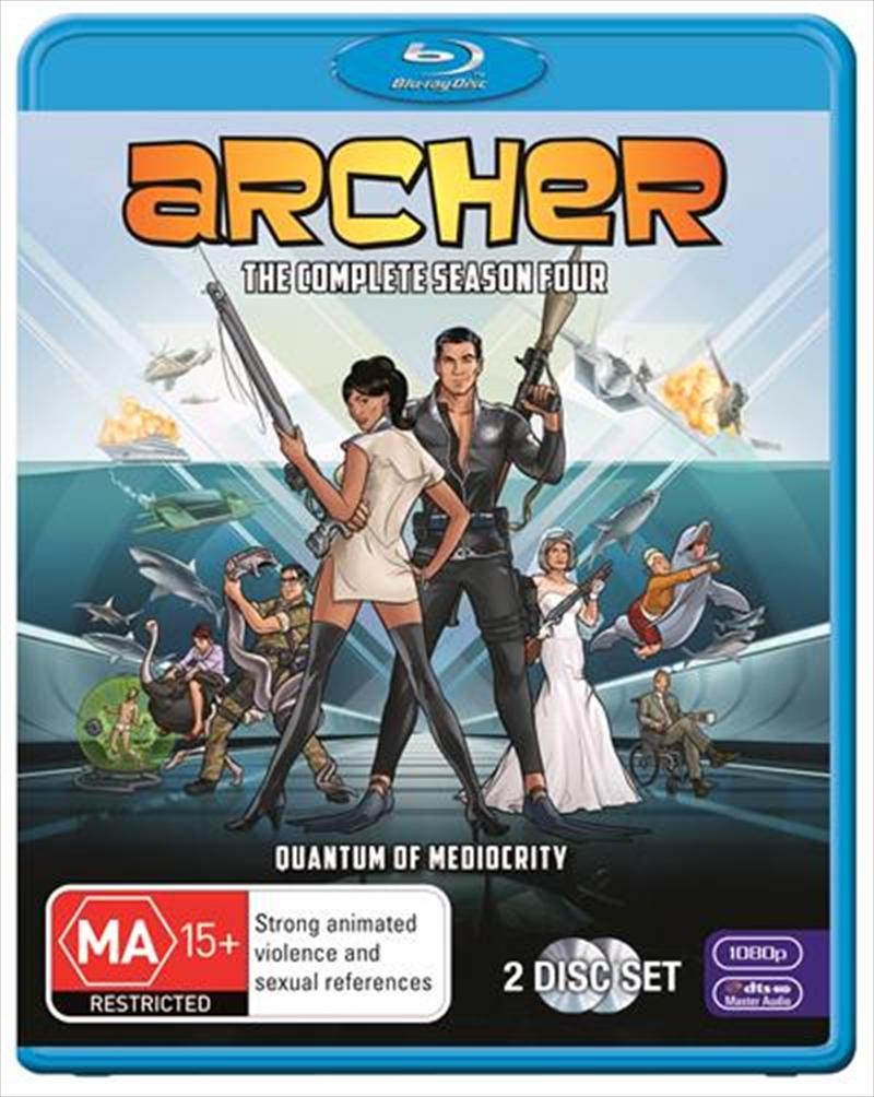 Archer - Season 4 | Blu-ray