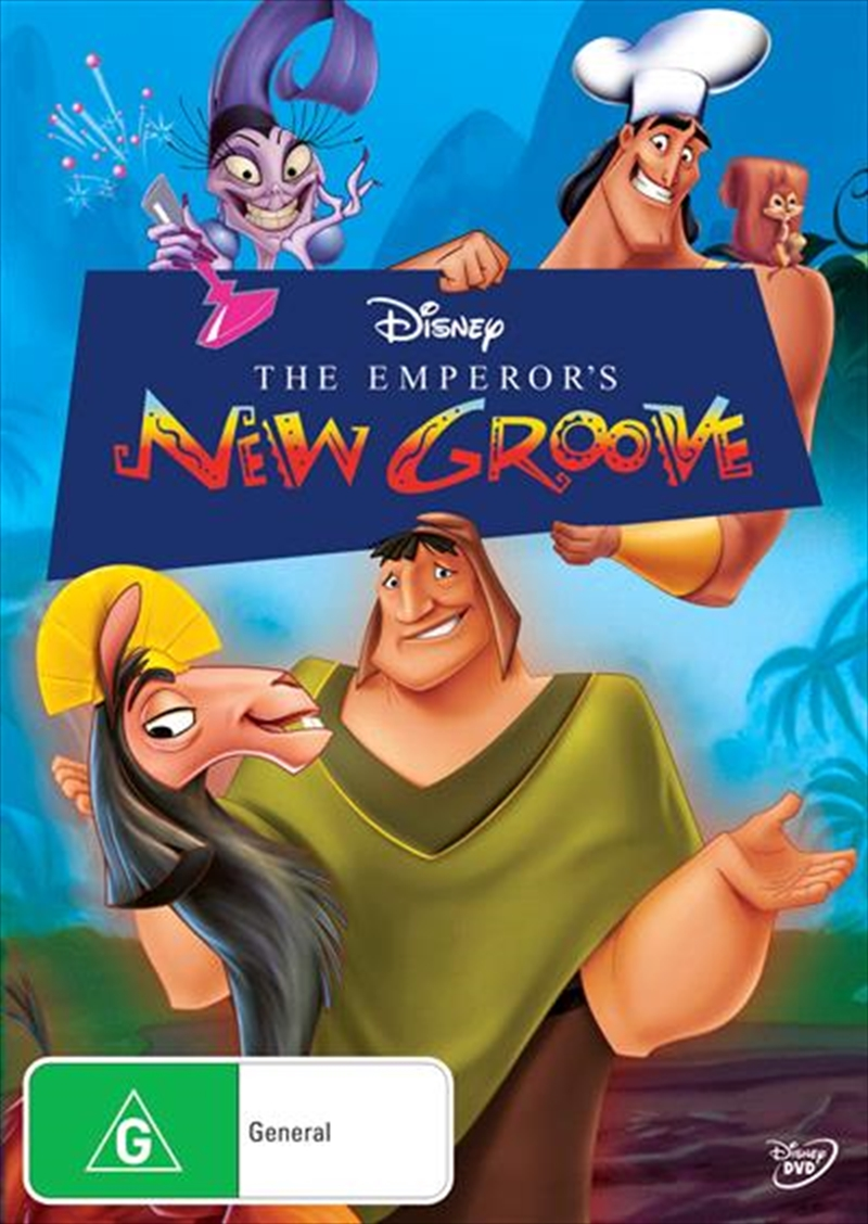 Buy Emperor S New Groove On Dvd Sanity
