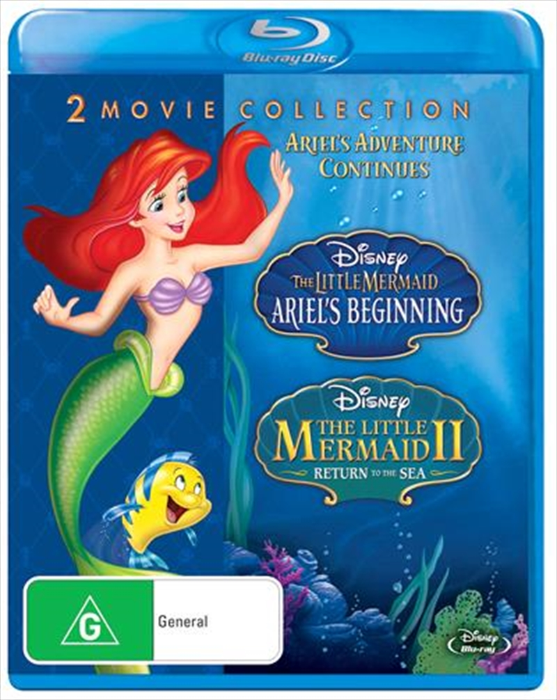 Little Mermaid II - Return To The Sea / The Little Mermaid III - Ariel's Beginning, The | Blu-ray