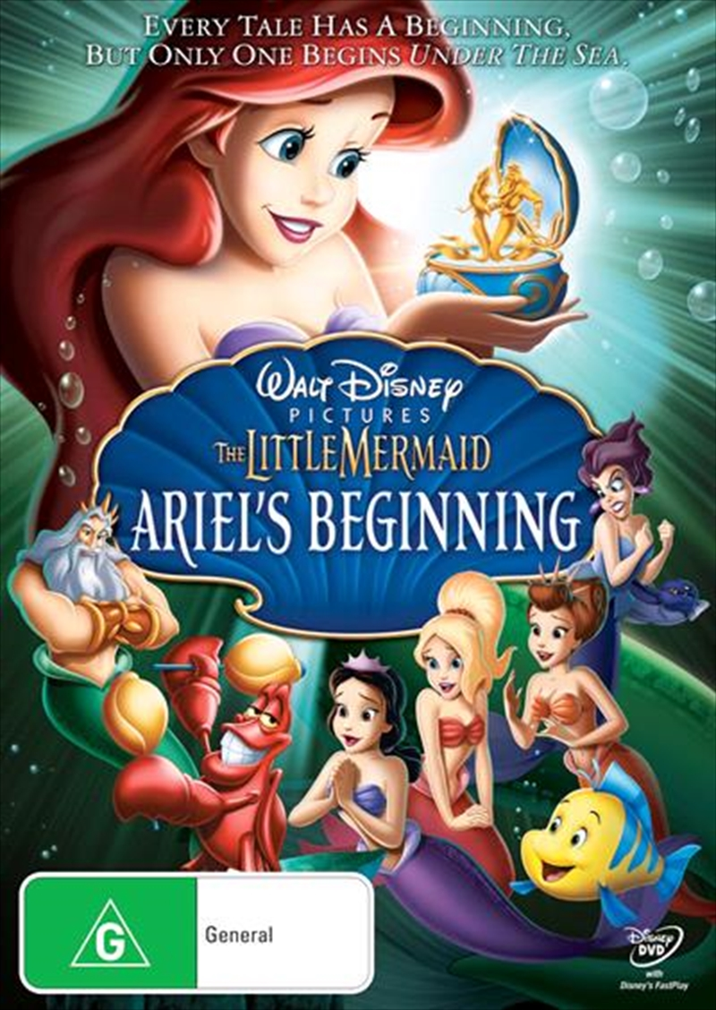 Little Mermaid III - Ariel's Beginning, The | DVD