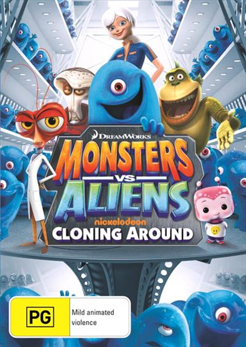 Monsters Vs Aliens - Cloning Around