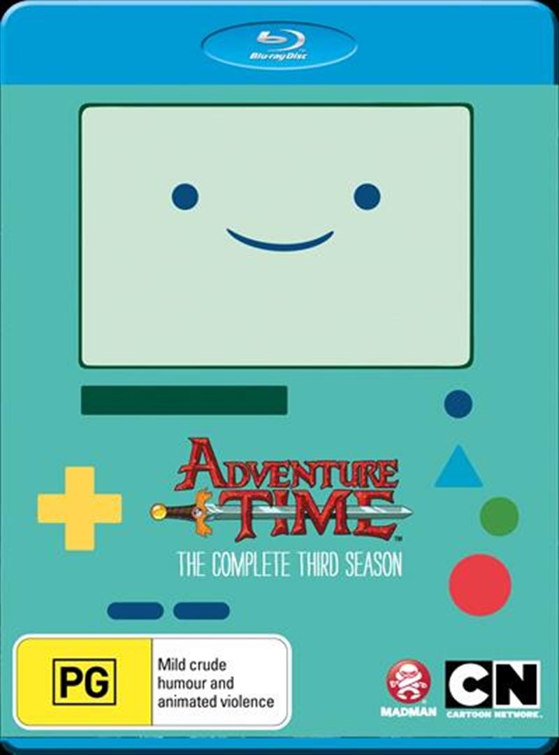 Adventure Time - Season 3 | Blu-ray