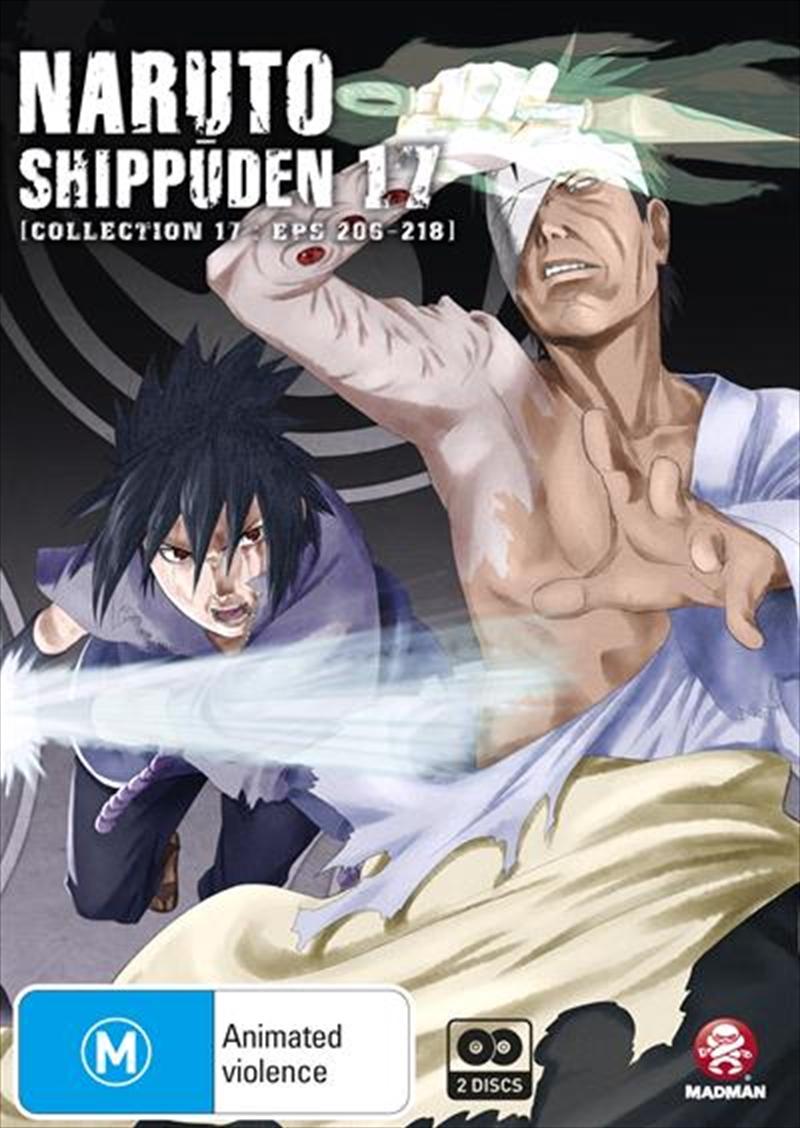 Naruto Shippuden - Collection 17 - Eps 206-218 | DVD