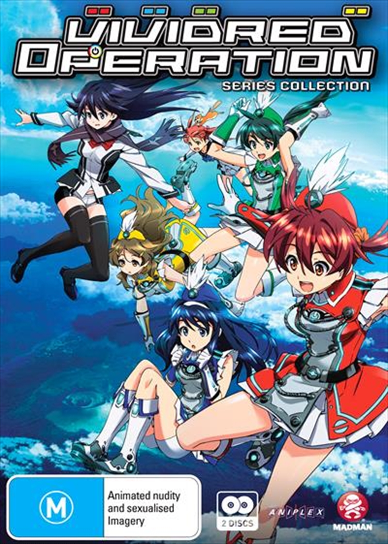 Vividred Operation Series - Collection | Subtitled Edition | DVD